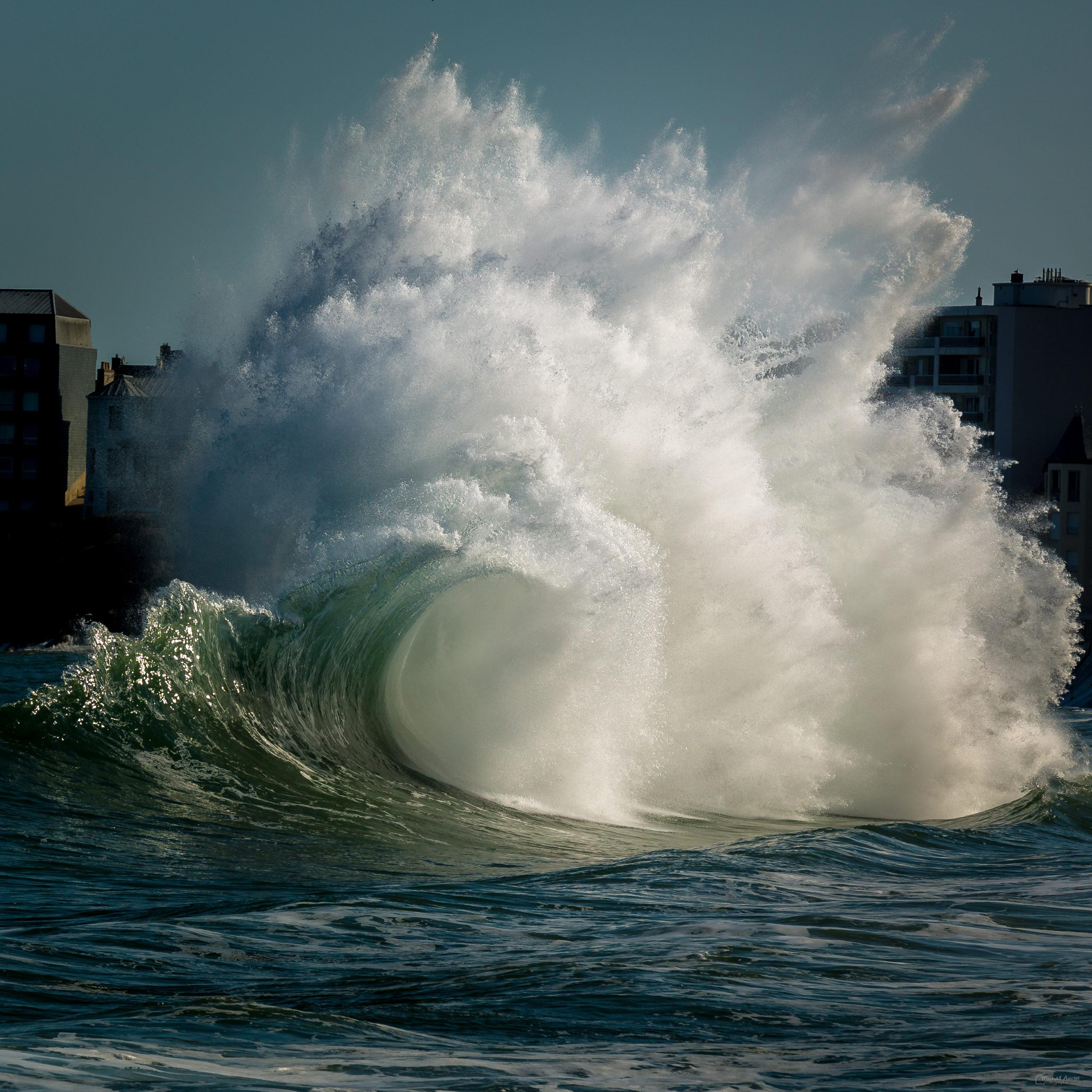 photographies backwash vague saint-malo
