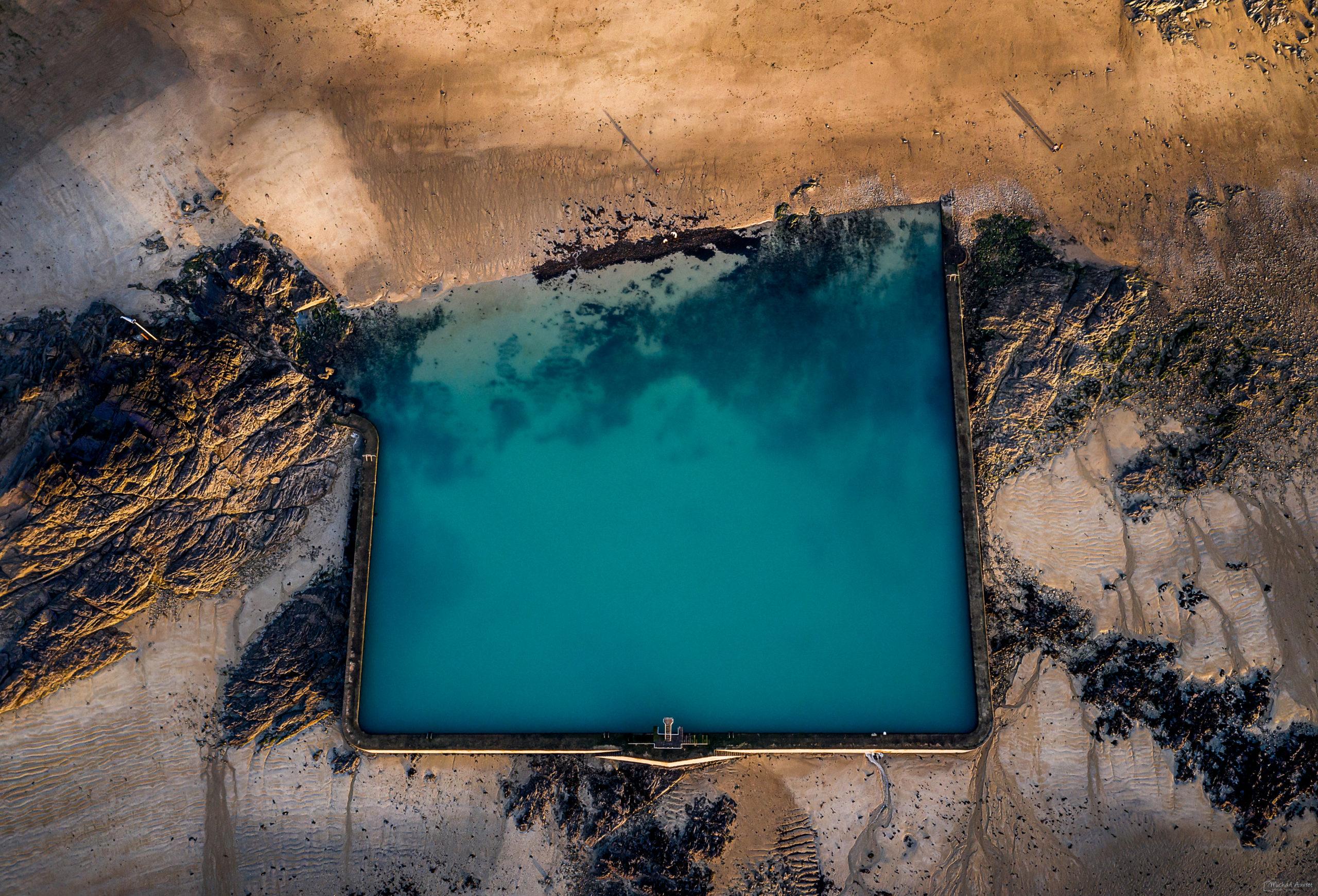 Saint Malo plongeoir piscine bon secours