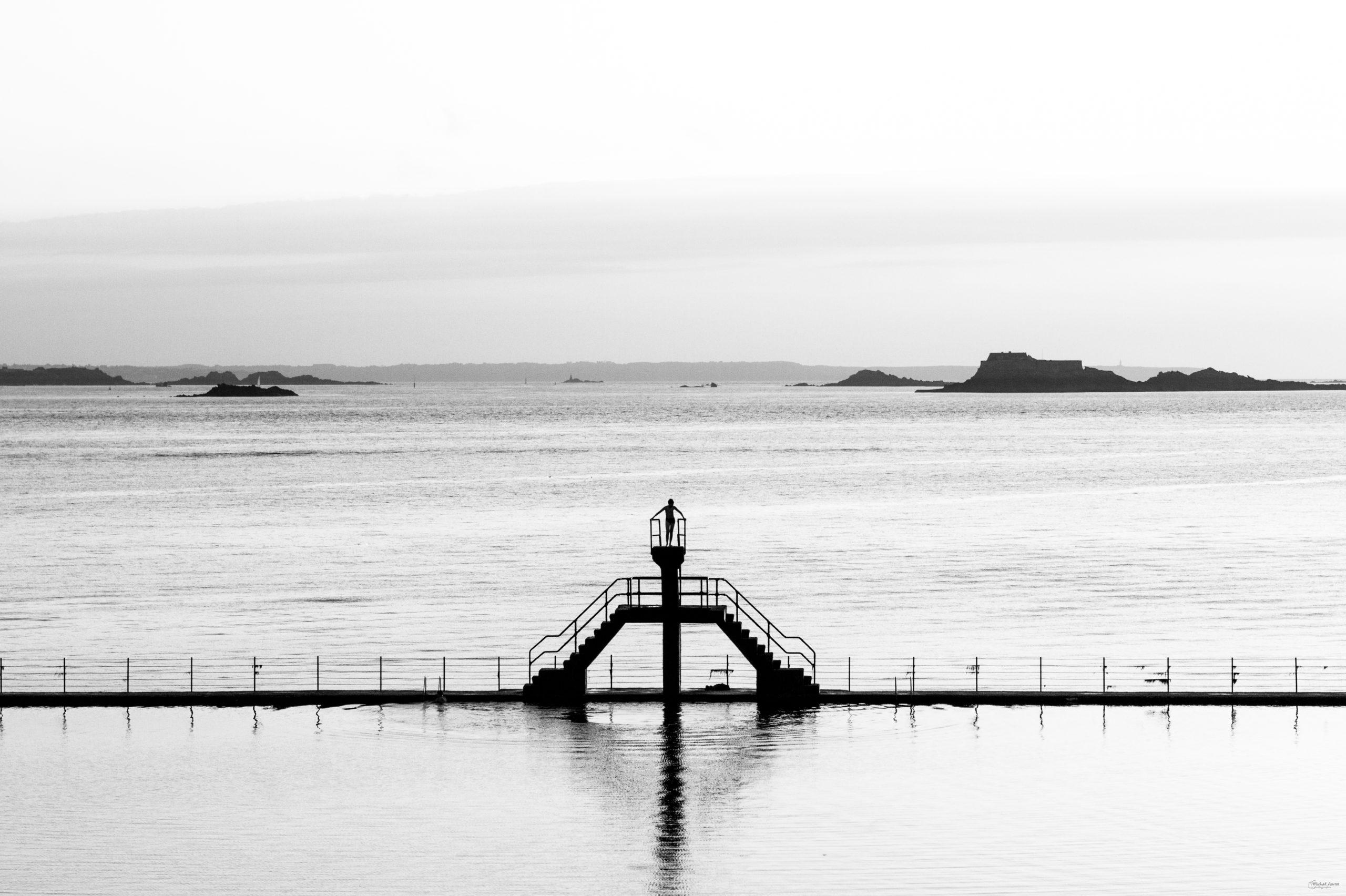 Saint Malo plongeoir bon secours