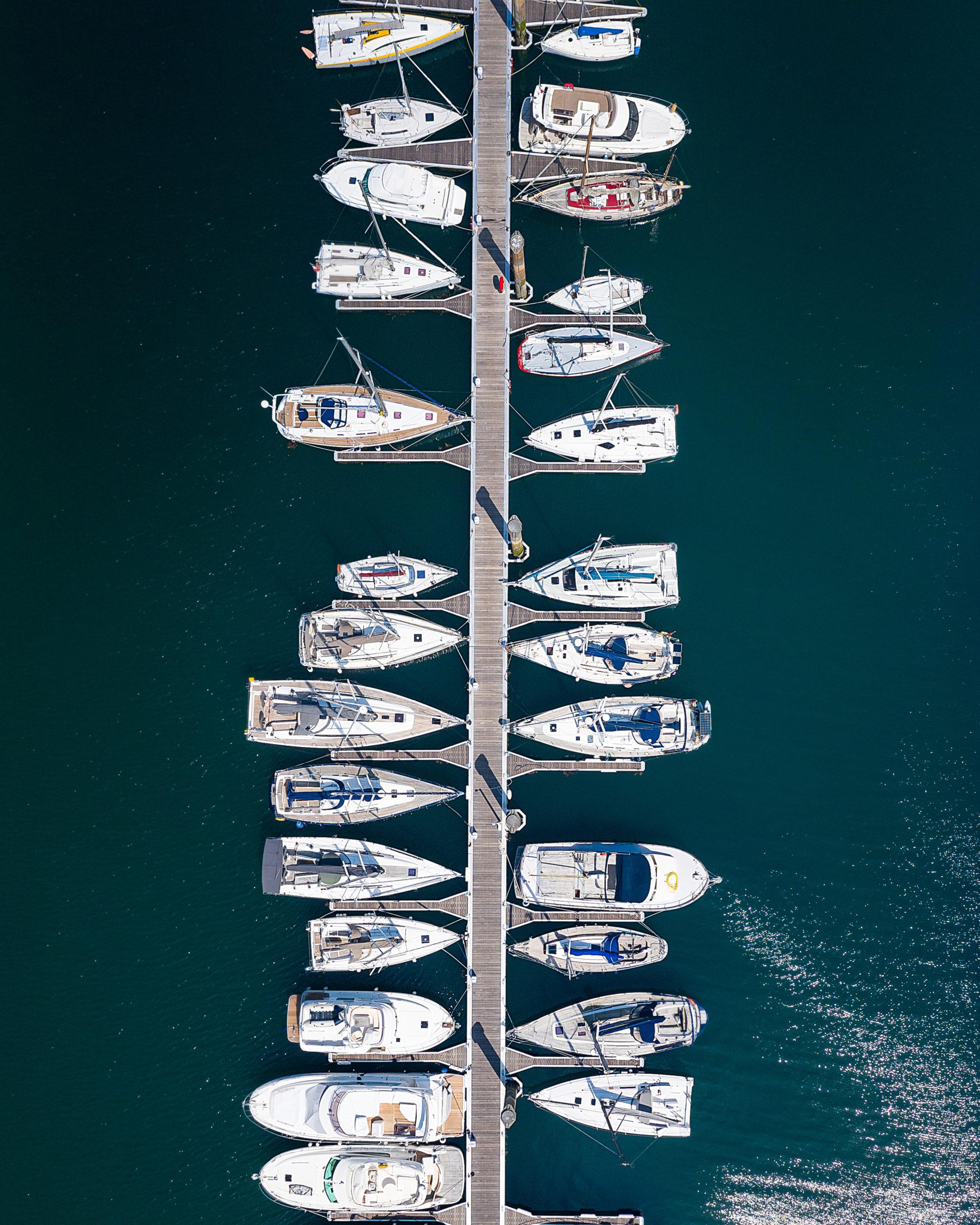 saintmalo port sablons vueaérienne bateau