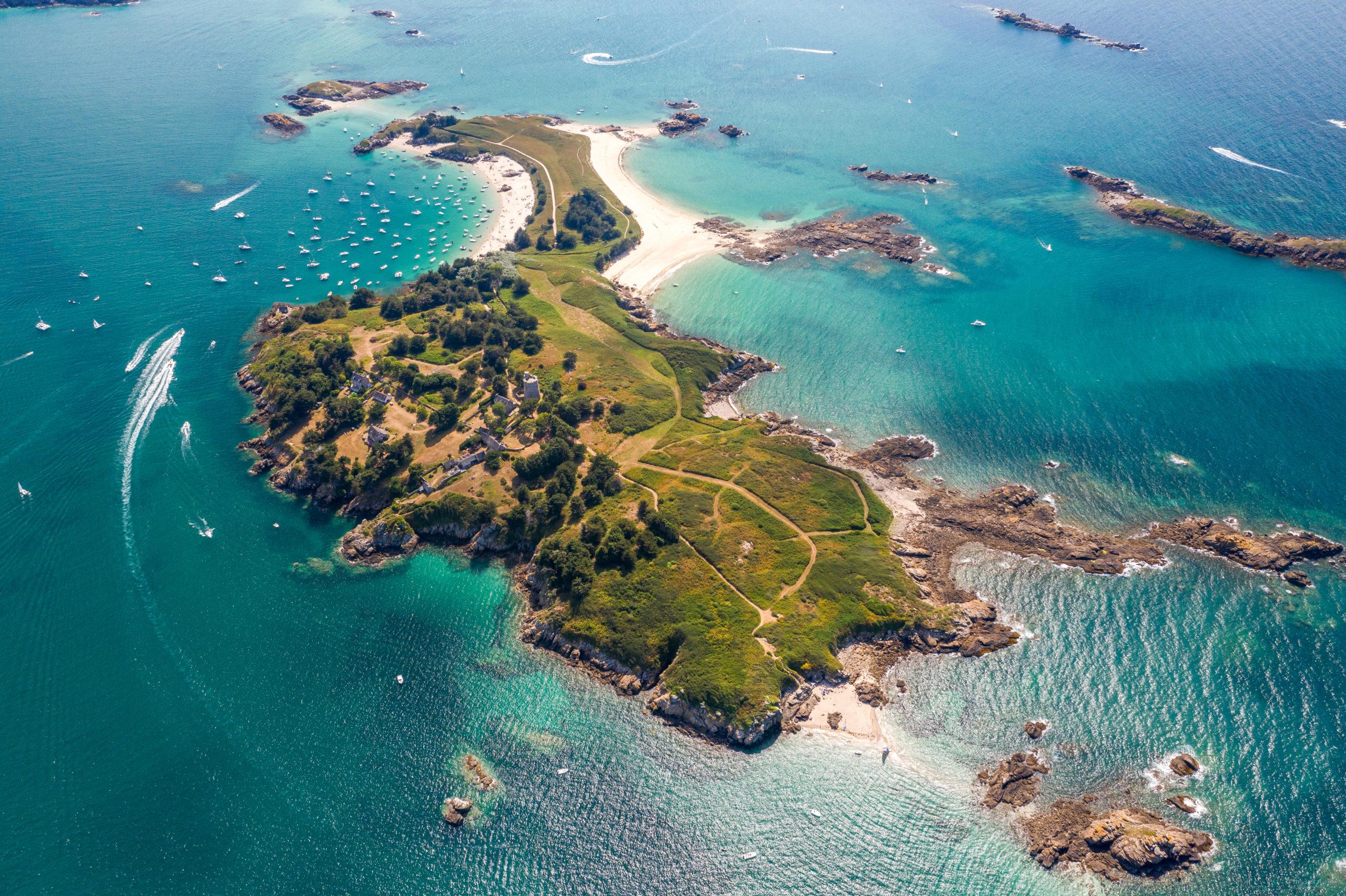 ebihen ile ile-des-ebihens archipel aérien vue-du-ciel saint-jacut-de-la-mer