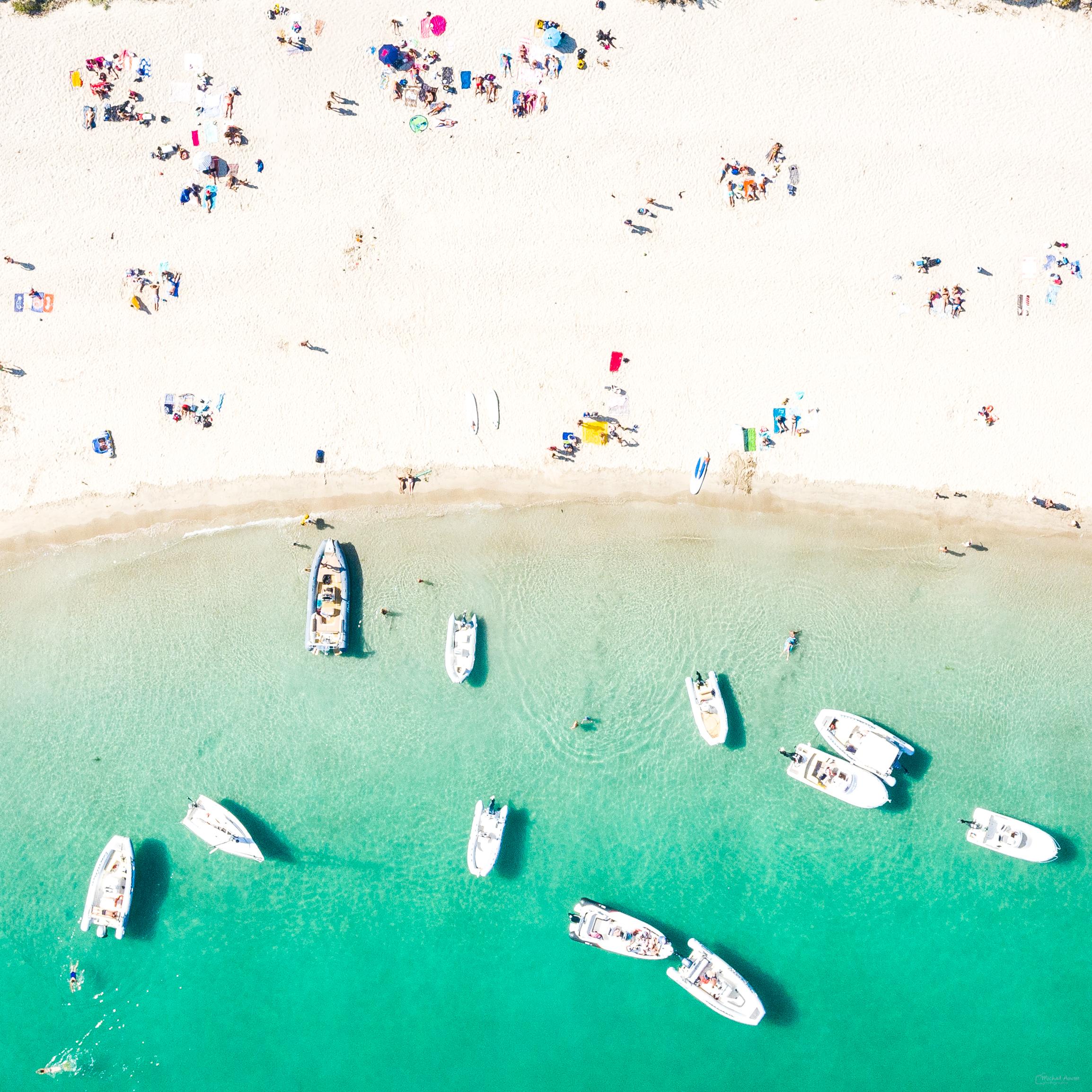 plage mer sable vue-du-ciel aérienne ebihen
