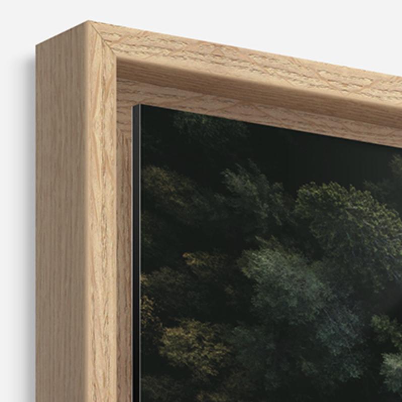 encadrement bois galerie d'art musée