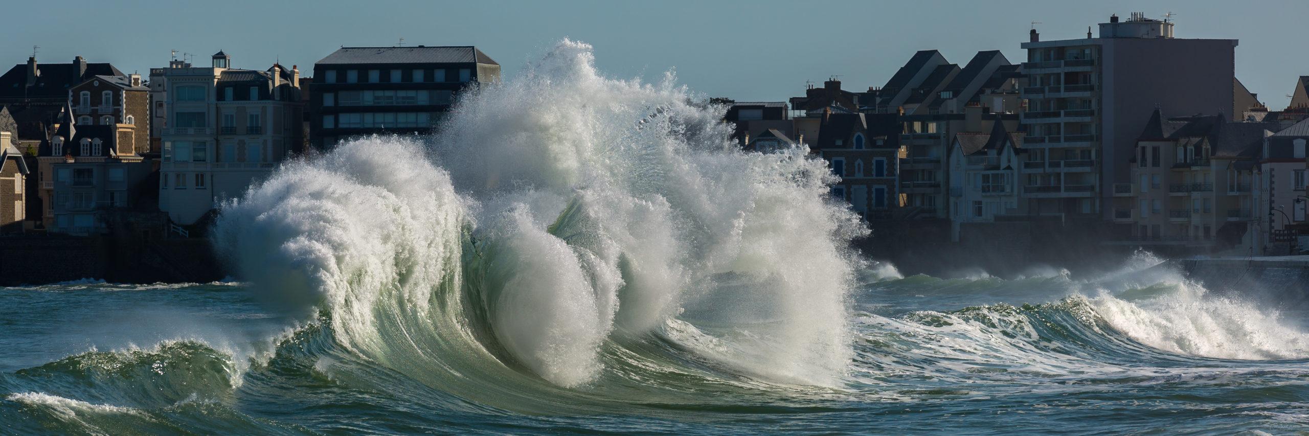 tempête ressac backwash