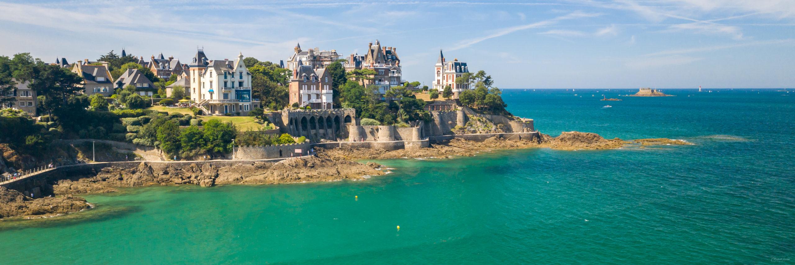 panoramique bretagne Dinard malouine