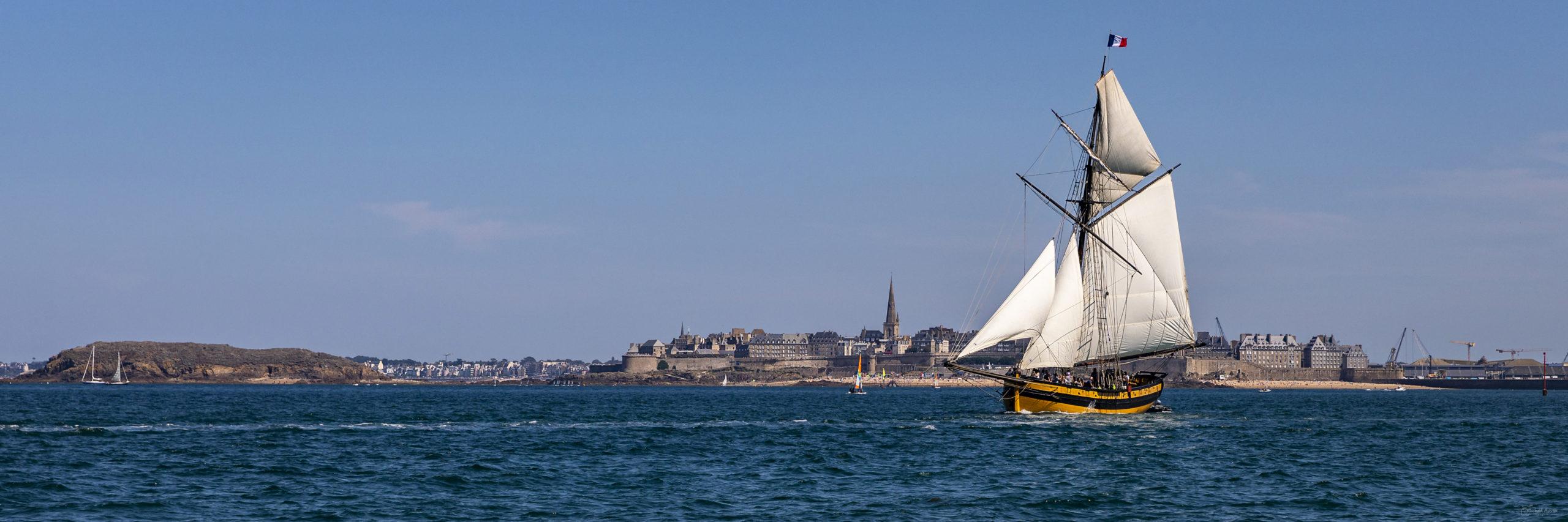 bateau voilier renard saint malo