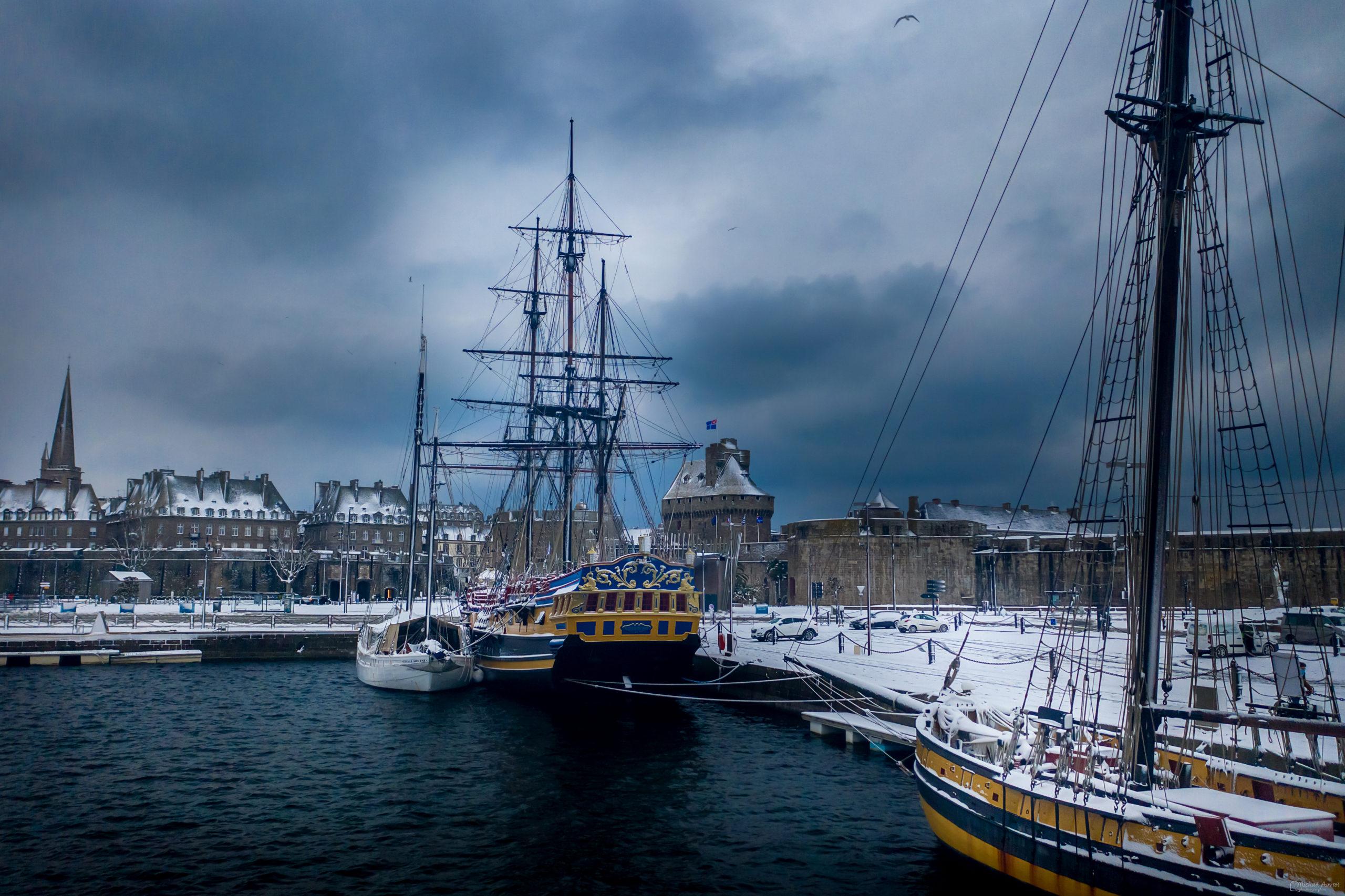 saint malo neige intra bateau corsaire