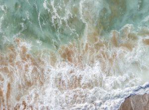 série aérial Beach cote sauvage